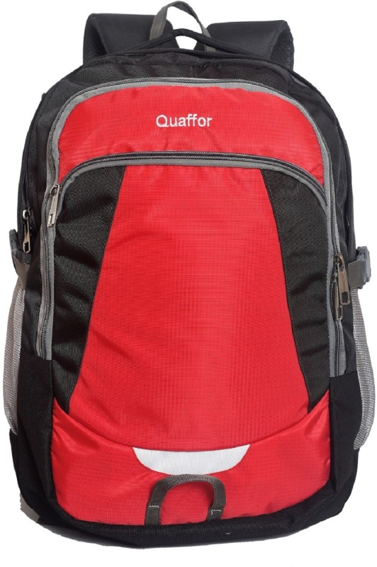 Quaffor RTF222 (Nursery/Play School) Backpack(Red, 32 L)
