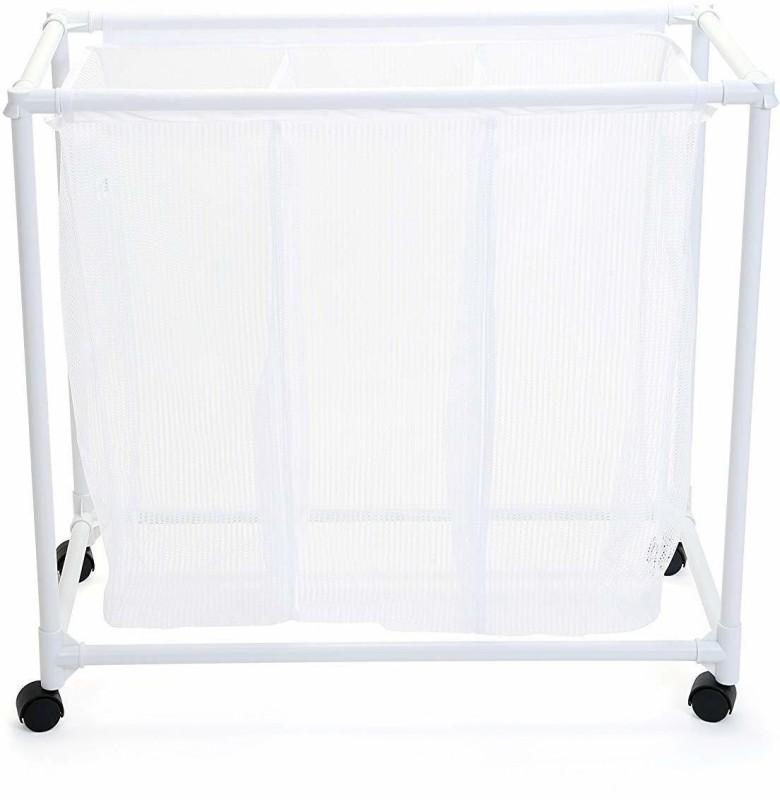 Zahuu PSAH-2081 Laundry Trolley(White)
