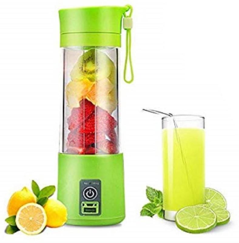 niknats pro Electric Juicer Mixer Bottle 220 Juicer Mixer Grinder(Green, 1 Jar)