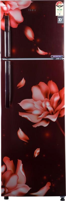 Haier 258 L Frost Free Double Door 3 Star Convertible Refrigerator(Red Jasmine, HRF-2783CRJ-E)