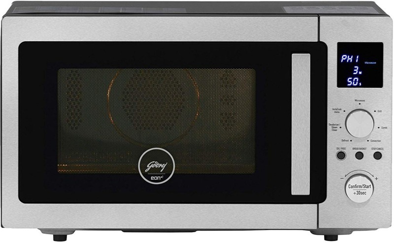 Godrej 28 L Convection Microwave Oven(GME 528 CIP1 QM, Silver)