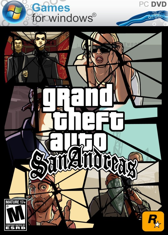 GRAND THEFT AUTO SAN ANDREAS (full edition)(keyboard, for pc)