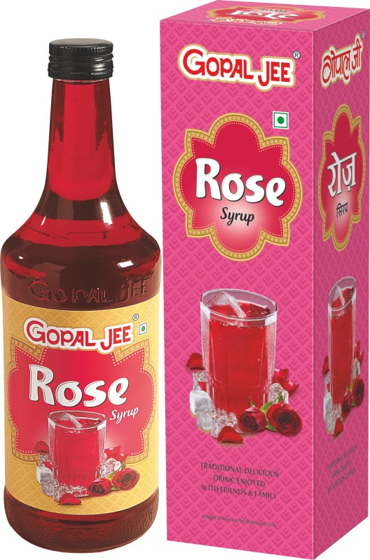 GOPALJEE Rose Syrup (Combo)(750 ml, Pack of 2)