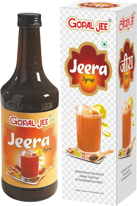 GOPALJEE Jeera Syrup (Combo)(750 ml, Pack of 2)