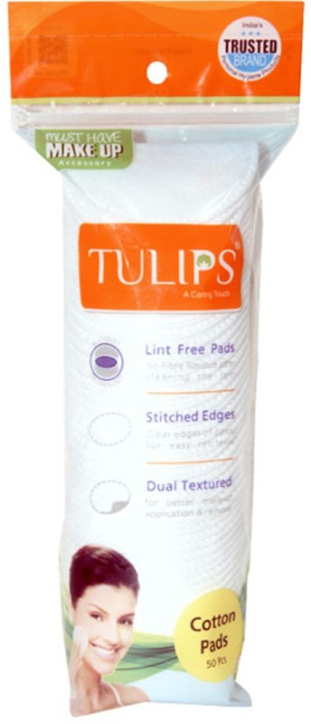 Tulips Cotton Pad 50pcs (Pack Of 6)(6 Units)