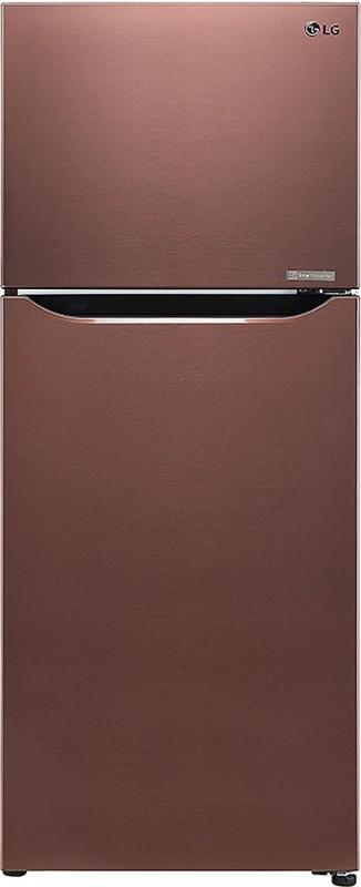 LG 260 L Frost Free Double Door 3 Star (2020) Refrigerator(Amber Steel, GL-C292SASX)