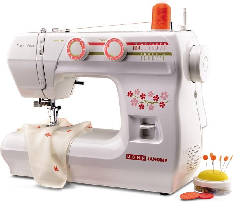 Usha New wonder stich Electric Sewing Machine( Built-in Stitches 21)