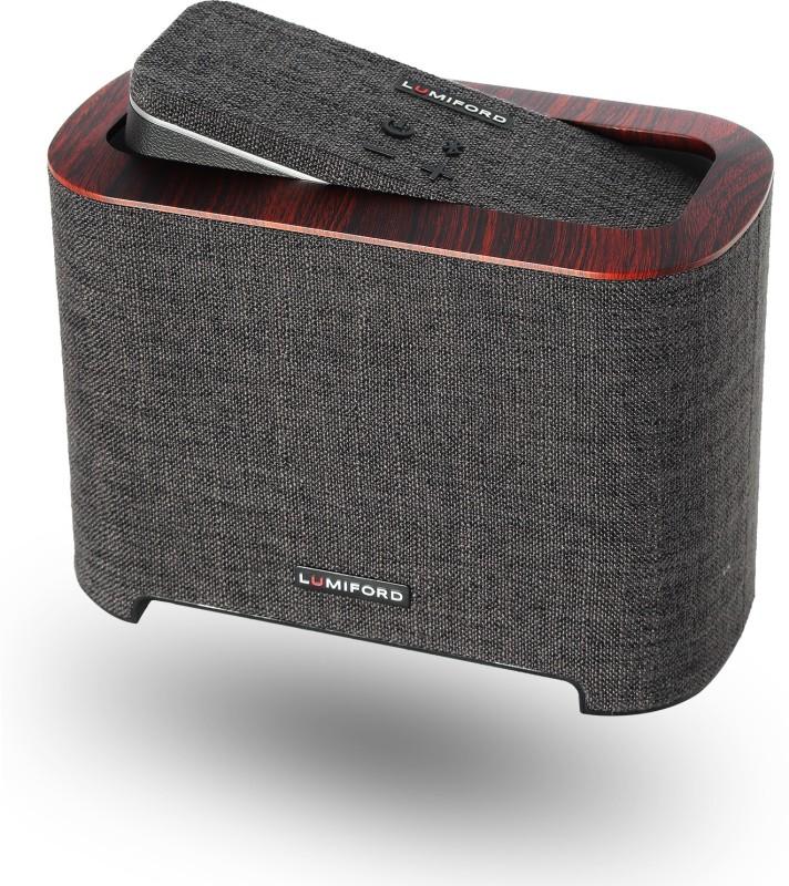 Lumiford 2.1 Subwoofer Dock 26 W Bluetooth Home Audio Speaker(Dark Grey, Stereo Channel)