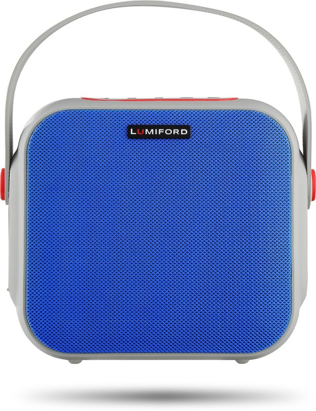 lumiford GoFash-NY 12 W Bluetooth Home Audio Speaker(Blue, Stereo Channel)