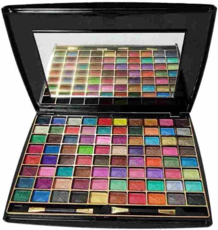 Half N Half proressional Make-up-Artist 80 Color Makhmali Eyeshedow 48 ml (Multicolor) 48 g(Multicolor)