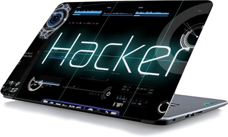 RADANYA Hacker Laptop Skin 1493 Vinyl Laptop Decal 15.6