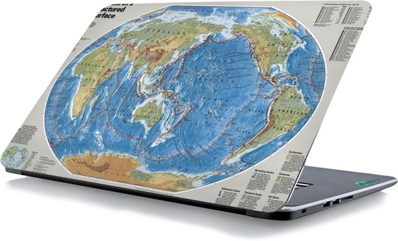 RADANYA Map Laptop Skin 87086 Vinyl Laptop Decal 15.6