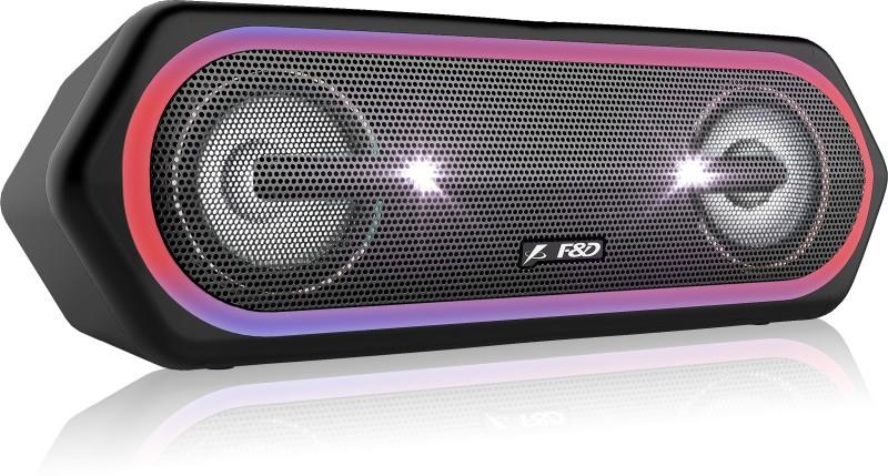 F&D W40 20 W Bluetooth Speaker(Black, Stereo Channel)
