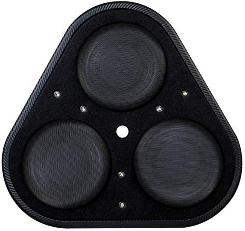 Vibe BLACKAIRP8-V6 8 inch Compact Passive Sub Subwoofer(Passive , RMS Power: 900 W)