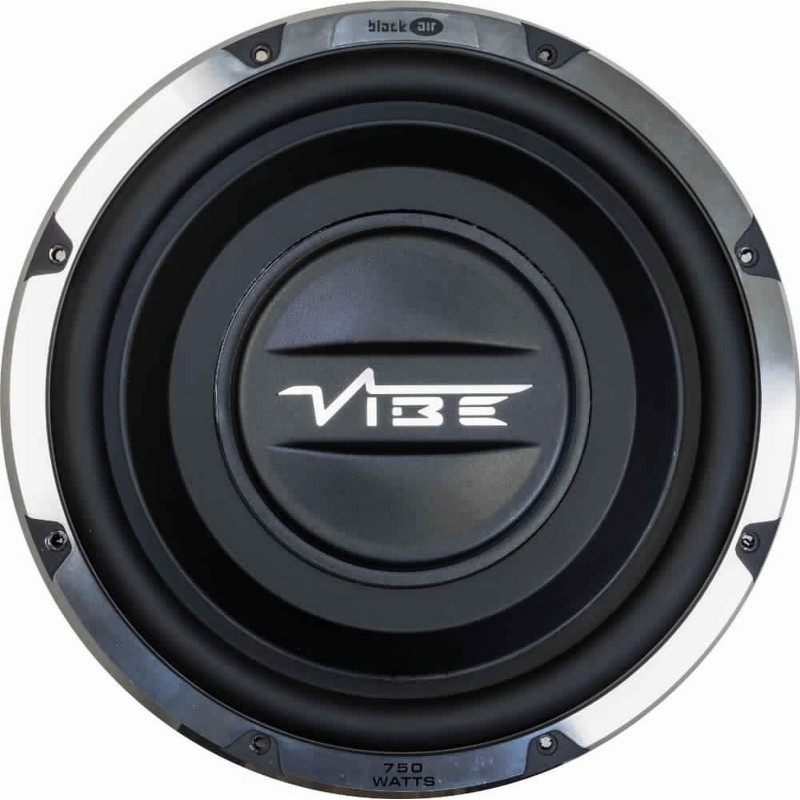 Vibe BLACKAIR12S-V6 12 inch Super Slim Subwoofer(Powered , RMS Power: 750 W)
