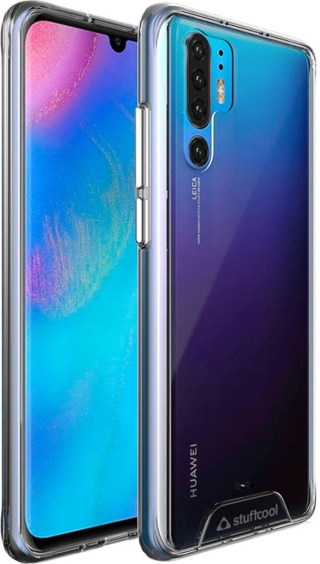 Stuffcool Back Cover for Huawei P30 Pro 6.47 Inch(Transparent, Shock Proof)