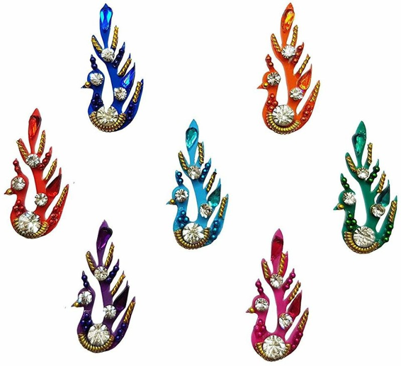 Comet Busters Designer Bridal Bindi for Women, Ladies, Brides, Girls, wedding, parties Multicolor Bindis(Traditional Bindi)