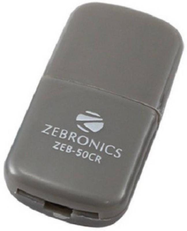 Zebronics zeb 50cr Card Reader(Grey)