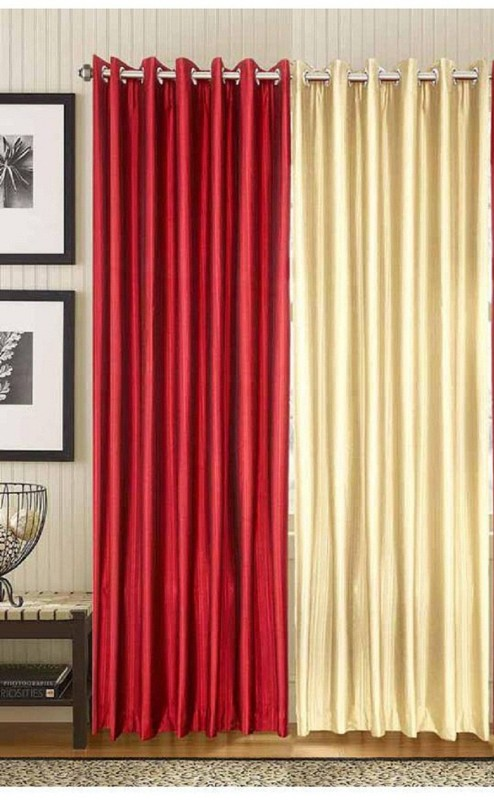 check MRP of maroon and cream curtains New panipat textile zone