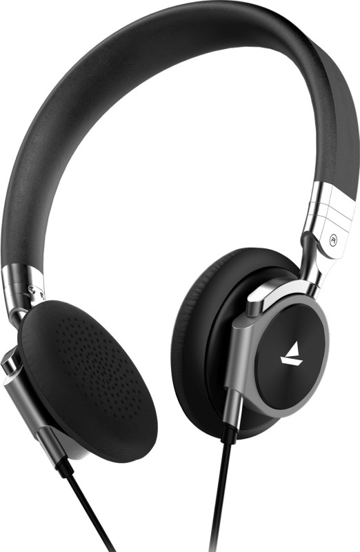 boAt Bassheads 950 Wired Headset with Mic(Black Diamond, On the Ear)