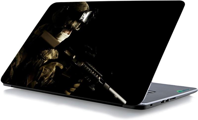 RADANYA Gun Printed Laptop Skin 59405 Vinyl Laptop Decal 15.6