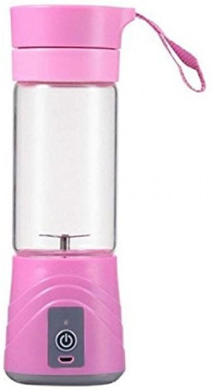 Plenzo JK-3 USB Electric Juicer 0 Juicer(Pink, 1 Jar)