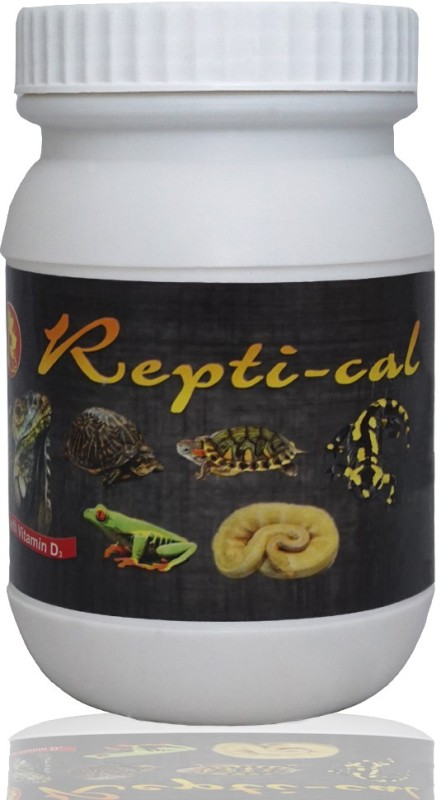 Pet Care International (PCI) Repti-Cal to Provide Essential Calcium & Vitamin D3 for Healthy Reptile and Amphibians (100grm) Pet Health Supplements(100 g)