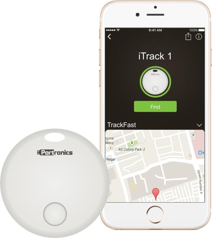 Portronics POR-130 iTrack 1 Safety/Security Smart Tracker