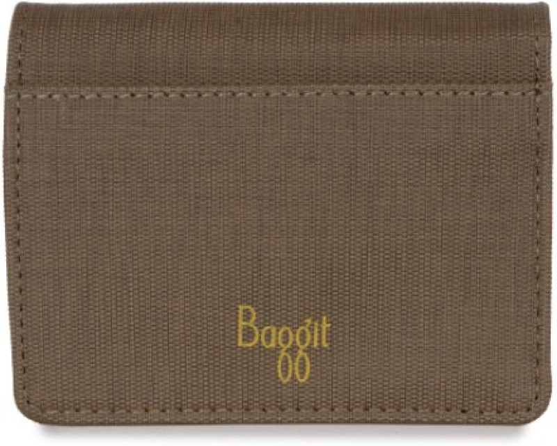 Baggit Women Casual Brown Artificial Leather Wallet(6 Card Slots)