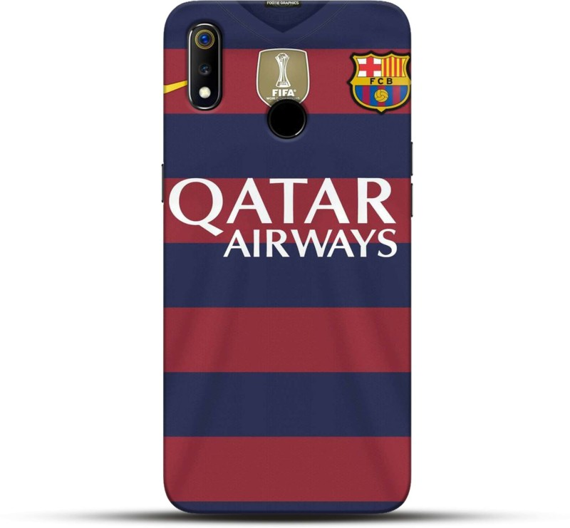 Pikkme Back Cover for Qatar Airways Oppo Realme 3(Multicolor, Hard Case)
