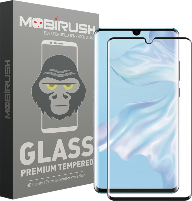 MOBIRUSH Edge To Edge Tempered Glass for Huawei P30 Pro(Pack of 1)