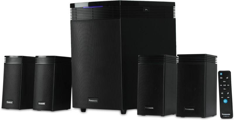 Panasonic SC-HT40GW-K 80 W Bluetooth Home Audio Speaker(Black, 4.1 Channel)