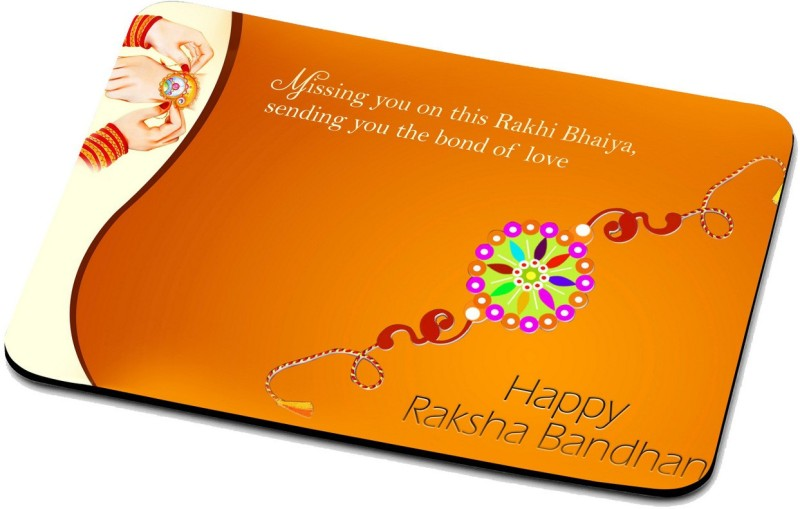 RADANYA Happy Raksha Bandhan Mouse Pad 04R15PD37 Mousepad(Multicolor)