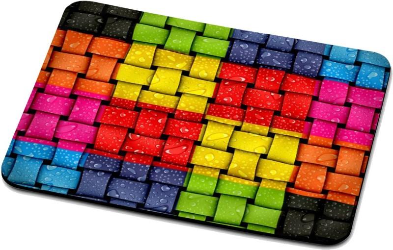 RADANYA Knit Mouse Pad 126 Mousepad(Multicolor)