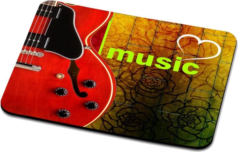 RADANYA Music Mouse Pad 127 Mousepad(Multicolor)