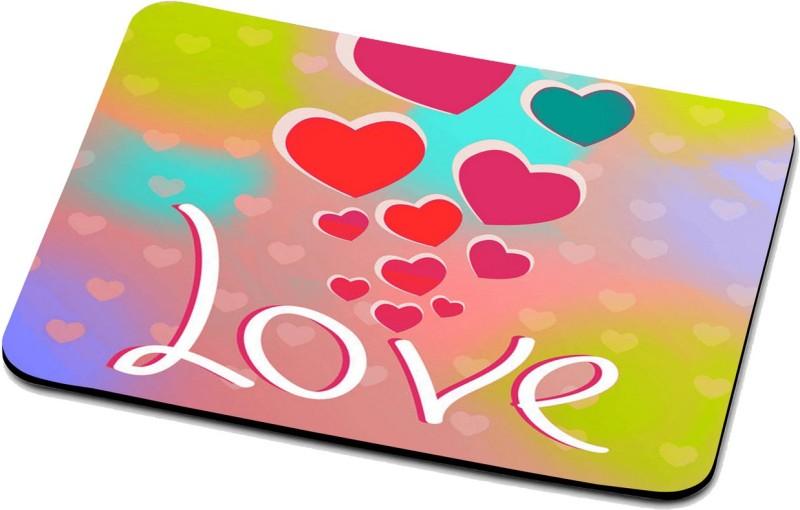 RADANYA Love Mouse Pad 239 Mousepad(Multicolor)