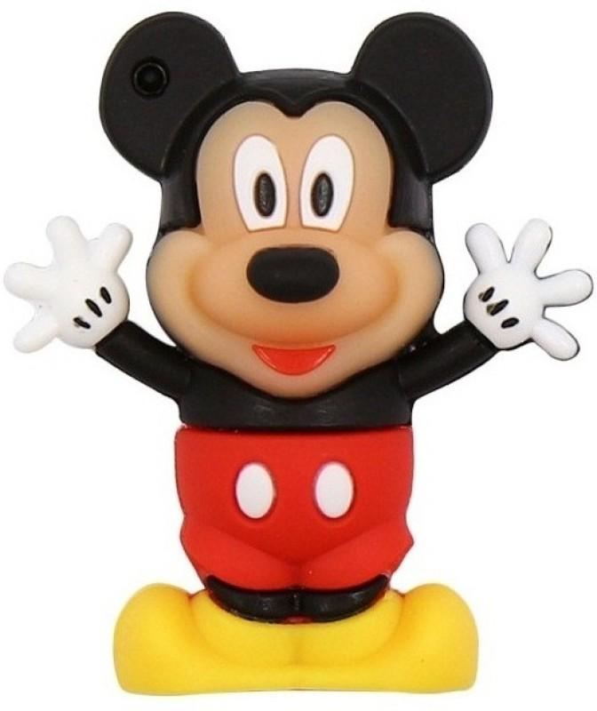 Pankreeti Mickey Mouse 32 GB Pen Drive(Red)