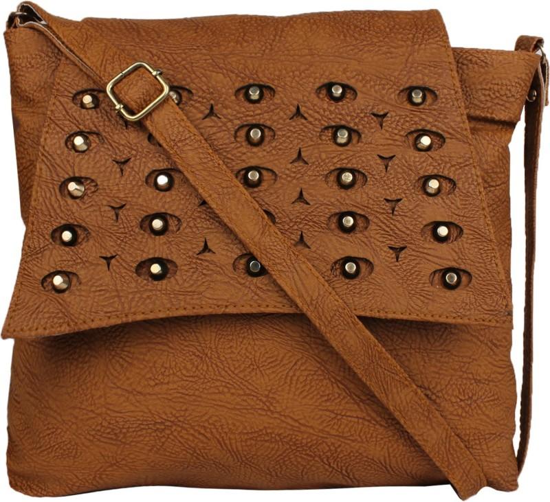 Faijan Fashions Tan Sling Bag