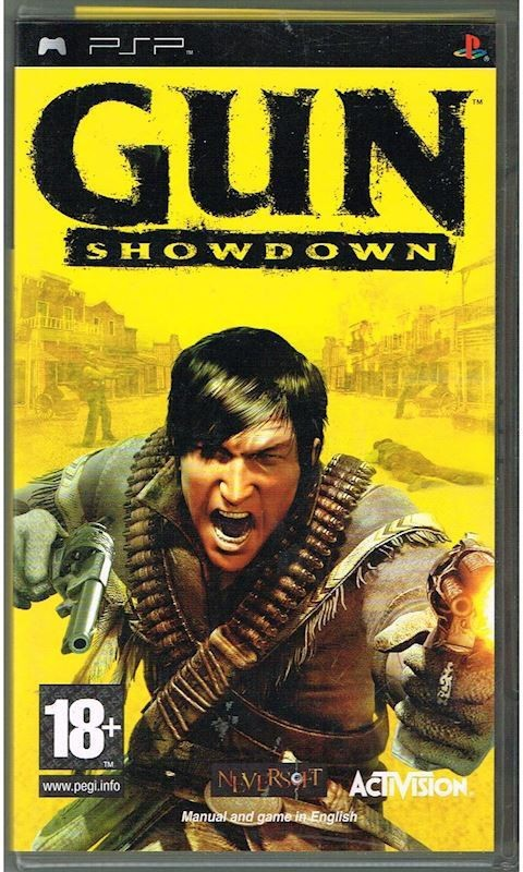 PSP Gun Show Down(ACTION ADVENTURE, for PSP)
