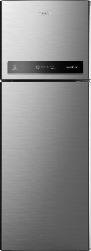 Whirlpool 340 L Frost Free Double Door 3 Star Convertible Refrigerator(Magnum Steel, IF INV CNV 355 ELT 3S)