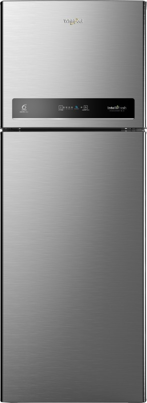 Whirlpool 360 L Frost Free Double Door 3 Star Convertible Refrigerator(Magnum Steel, IF INV CNV 375 ELT 3S)