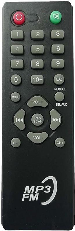 LipiWorld MP3 Home Theater System Remote Control Compatible for CEMEX Remote Controller(Black)