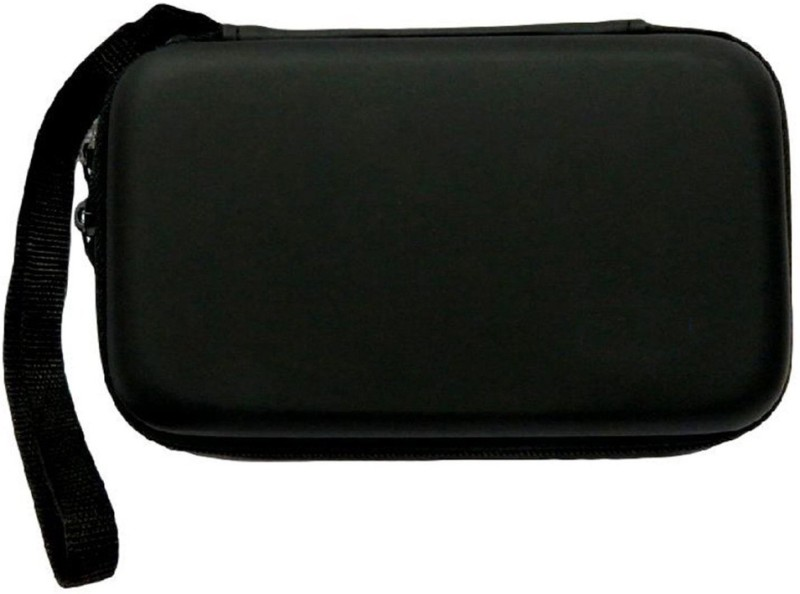 Tech-X Hard Drive Case Hard Disk Cover External Hard Drive Case Pouch Black Hard Disk Skin(Black)
