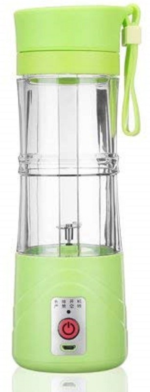 Ecstasy L Fruit Juicer | Plastic Portable USB Electric Blender Juice Cup - Juice Blender Smoothie Maker Fruit Juicer Bottle 0 Juicer(Green, 1 Jar)