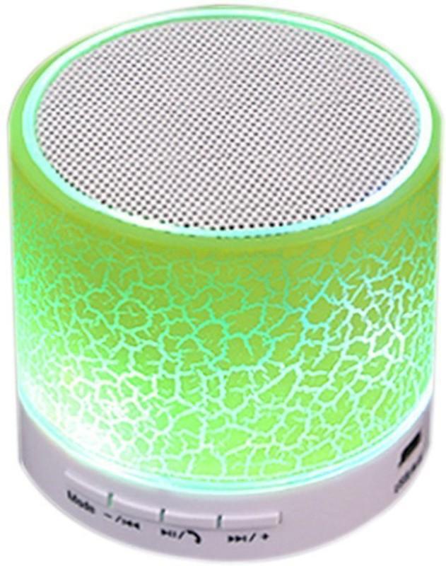 Voltegic ™ Mini Wireless Bluetooth Speaker USB Music Sound Box Subwoofer with Mic 3 W Bluetooth Speaker(Green, Mono Channel)
