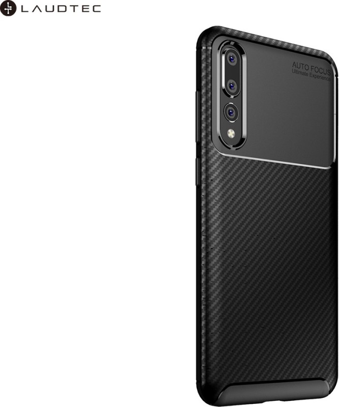 Krkis Back Cover for Honor P30(Black, Grip Case)