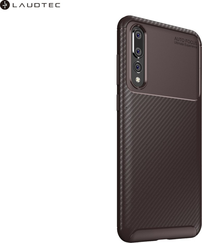 Krkis Back Cover for Honor P30(Brown, Grip Case)