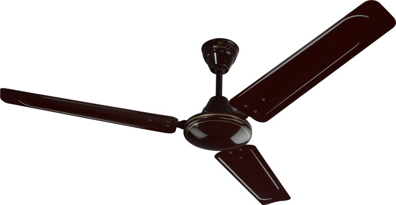 Bajaj Edge 1200 mm 3 Blade Ceiling Fan(Brown, Pack of 1)