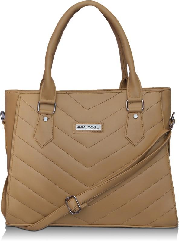 Fantosy Women Beige Shoulder Bag