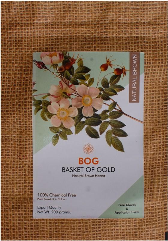 BOG Pure & Natural Herbal Brown Henna powder Natural Mehendi(Pack of 1)